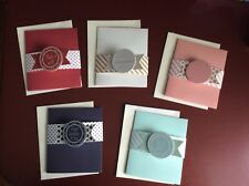 Brand New Homemade Tri-Fold Style Cards with Card Wrap