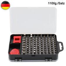 110-tlg Torx Feinmechanik Werkzeug Schraubenzieher Bitsatz Mini Satz Uhrmacher