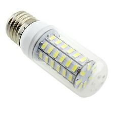 110V/220V  E27 48 LEDS 9W LED 5730 Cool White Corn Light Bulb With Cover