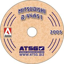 Mitsubishi Pajero & Triton R4A51 4 Speed 2WD ATSG Workshop Manual