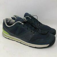 Salomon Shoes 10.5 Mens Blue Sneakers Running Hiking Trail Ortholite