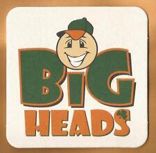 12 Bud Light Big Heads Beer Coasters