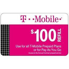 T-Mobile Prepaid Refill $100