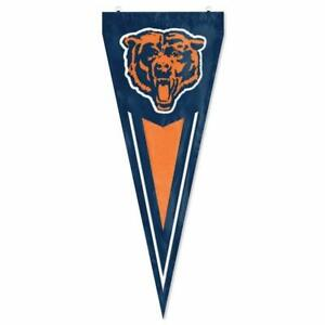Chicago Bears Nylon Pennant Flag NFL Football