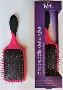 Wet Brush Pro PADDLE DETANGLER  (Black Pink Purple Purist Blue)    FREE SHIPPING