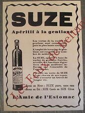 Publicité ancienne Suze aperitif gentiane  , advert 1931