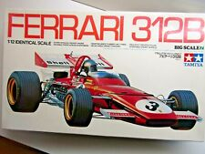 Tamiya Vintage 1:12 Big Scale Ferrari 312B Model Kit New Ickx Andretti Regazzoni