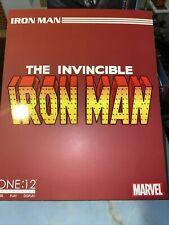 "One: 12 Collective Marvel IRON MAN 6"" Action Figure Avengers Mezco 1/12"