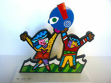 ROMERO BRITTO Prototype for Miami Children's Museum Sculpture Signed and numbere