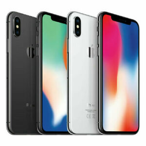 Apple iPhone X (iPhone 10) 64GB 256GB All Colours Unlocked- Excellent Grade A