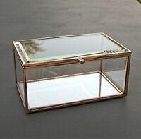 Copper & Glass Jewellery Box