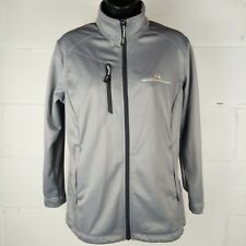 North End National Church Residences Jacket Women Size M Fleeced Lined Gray