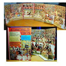 Zirkus zum Aufstellen Pop-up Internationaler Circus Lothar Meggendorfer Reprint
