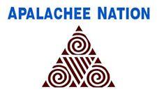 Aufkleber APALACHEE  Indianer Sticker fürs Auto Autoaufkleber Biker Motorrad