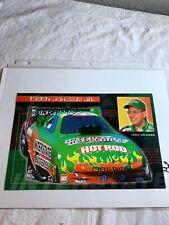 Tommy Johnson Racing Interstate Batteries Firebird Signed NHRA Photo 6 X 9 N 75