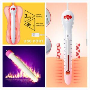 46℃ USB Heating Rod Warmer Inflatable Heating Stick Heater Keep Warm Winter
