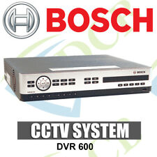 NEW BOSCH 16 CHANNEL DVR 600 SERIES 4TB HDD W/DVD H.264 2 X VGA -MOBILE VIEWING