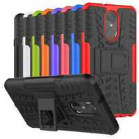 For LG Stylo 4 / LG Q Stylus Case Hybrid Shockproof Rugged Armor Kickstand Cover