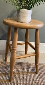 Wooden Pine Stool