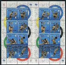 CROATIA 1994 INTL.OLYMPIC COMM.CENT/TENNIS/FOOTBALL/ROWING/RUNNING/mini sheet