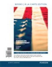 American Government, 2014 Election Edition, Books a la Carte Edition Plus REVEL