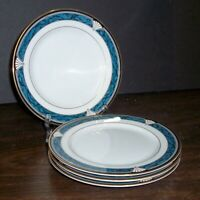 """LOT OF 4 GORHAM EDGEMONT GOLD BREAD PLATES 6.5"""" NEVER USED  FREE U S SHIPPING"""