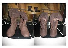 Super Winterstieferl / Schuhe in braun  Gr. 35   NEU TOP