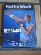 Kettle Worx Resistance DVD 6 Week Body Transformation 20 Minute Workout NEW