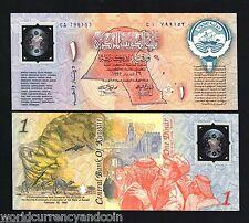KUWAIT 1 DINAR PCS1 1993 POLYMER COMMEMORATIVE CAMEL UNC CURRENCY MONEY BILLNOTE