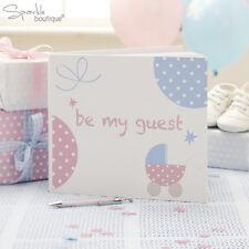 Baby shower guest book-unisexe baptême party-complet tiny pieds gamme en magasin!