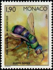 "MONACO N° 1568 ""FAUNE, INSECTES, GUEPE DOREE"" xxTTB"