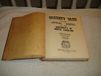 Vintage Yackety Yack 1935 University Of North Carolina Chronicle Yearbook