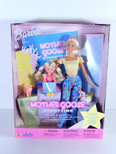 "**NIB BARBIE DOLL 2002 KELLY MOTHER GOOSE STORYTIME BOOK GIFT SET TOYS ""R"" US"