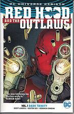 DC Universe Rebirth - Red Hood and the Outlaws Vol. 1 - Dark Trinity SC -NEW