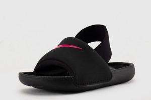 Nike Kawa Slide (TD) BV1094 008 black/pink  Toddler Shoes