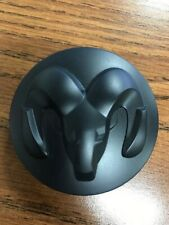 1LB72RXFAB BRAND NEW!! OEM DODGE RAM 1500 Center Cap RXF Matte Black - Single