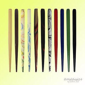 Federhalter aus Holz / Holzfederhalter  für Schreibfedern, Zeichenfedern, Federn