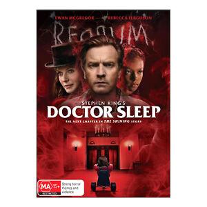 Doctor Sleep DVD Brand New Sealed Region 4 Aust. - Ewan McGregor - Free Post