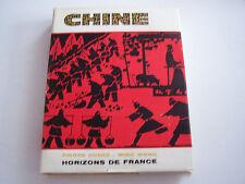 CHINE , HORIZON DE FRANCE . TRES BEAU LIVRE . 272 PAGES .  BON ETAT.