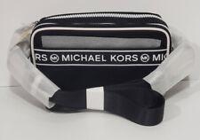 🌹NWT MICHAEL KORS KENLY SMALL CAMERA CROSSBODY NYLON BAG BLACK