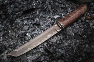 """Authors PREMIUM CUSTOM TANTO KNIFE """"SAMURAI"""" BULAT (strongest steel)"""