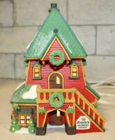 """Department 56 Heritage Village North Pole Series """"Santa's Rooming House"""" Retired"""