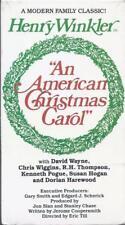 VHS:  AN AMERICAN CHRISTMAS CAROL.....HENRY WINKLER-DAVID WAYNE......NEW