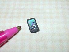 Dollhouse Miniature Cell Phone Black Tiny 1 12 Scale