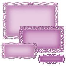 Spellbinders Nestabilities Decorative Elements: Romantic Rectangles Two (S5-211)