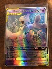 LEGGI LA DESCRIZIONE M MEW MEWTWO and & GX Mega Full EX ALLEATI Pokémon ITA TAG