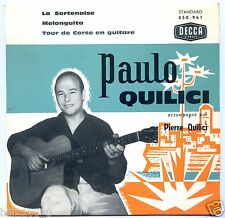 PAULO QUILICI avec PIERRE QUILICI . La Sartenaise . Melonguita. tour de Corse