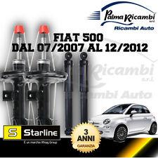 KIT 4 AMMORTIZZATORI STARLINE FIAT 500 DAL 07/07 AL 12/12 GARANTITI 3 ANNI