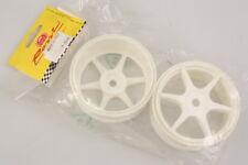 Rossi F8042 Cerchi Bianchi 1:8 (2) 19mm Wheels White modellismo