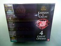 NEW ESOTERIC SACD ESSE-90072-80 (9 discs) : Karajan & Callas 4 Great Operas NIB